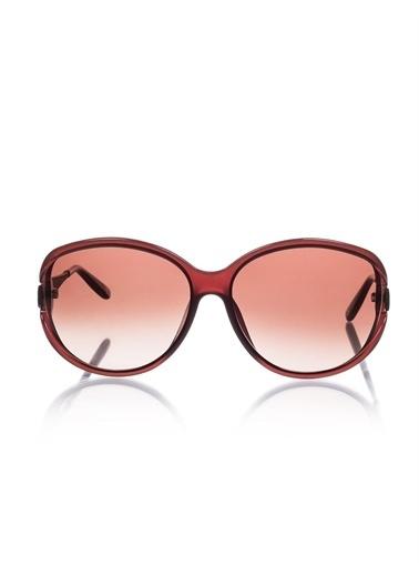Bottega Veneta B.V 288/F/S Cpe 63 J6 Oval Camlı Kemik Gövde Kadın Güneş Gözlüğü Kahve